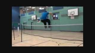 Vince Jumping Over A Badminton Net!!!!