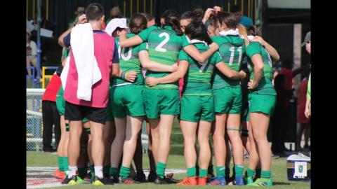 On The Road With The Ireland 7s - Episode 1 - Dubai 7s