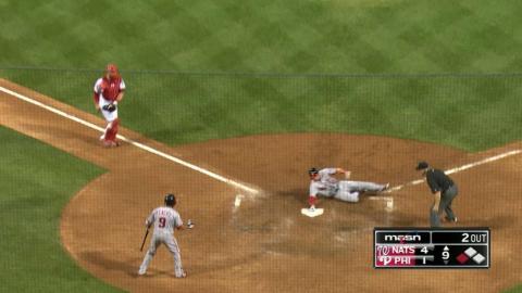 WSH@PHI: Drew hustles for a inside-the-park home run