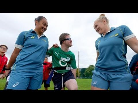 Irish Rugby TV: Disability Rugby Showcased On #WRWC2017 'Spirit Of Rugby' Day