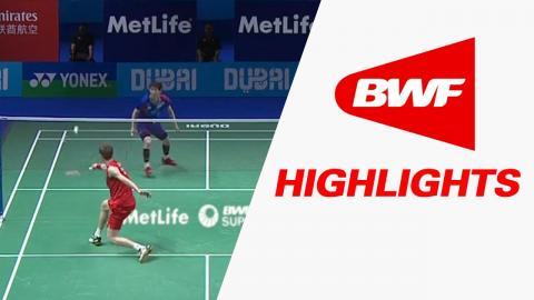 Dubai World Superseries Finals 2016 | Badminton Day 2 – Highlights