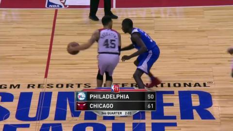 Full Highlights: Chicago Bulls vs Philadelphia 76ers , MGM Resorts NBA Summer League