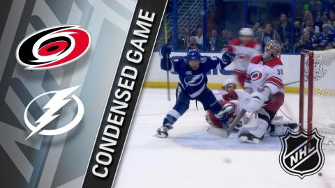 01/09/18 Condensed Game: Hurricanes @ Lightning
