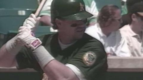 OAK@CWS: Blowers hits for cycle in 1998