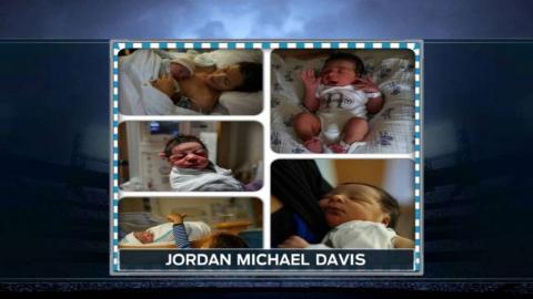 DET@CWS: Davis welcomes baby boy into world