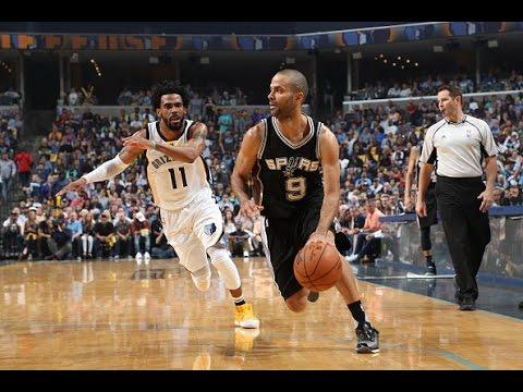 Tony Parker and Kawhi Leonard Power the Spurs to Round Two! | April 27,2017