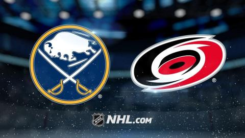 Faulk, Teravainen lead Hurricanes past Sabres, 4-2