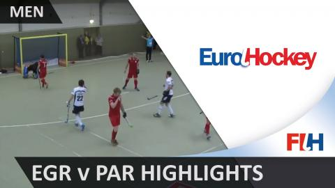 East Grinstead v Partille SC - Bronze Medal Match Highlights - Men's EuroHockey Indoor Club Champion
