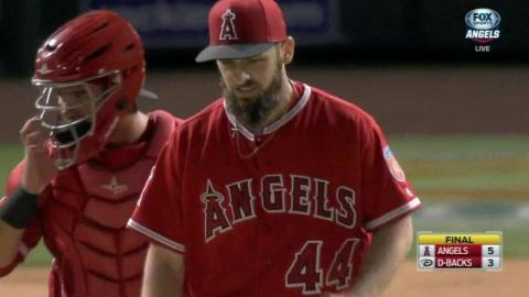 LAA@ARI: Cowart turns the double play to end the game