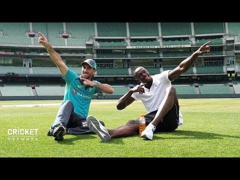 Maxi's Blog: Maxi meets Usain Bolt