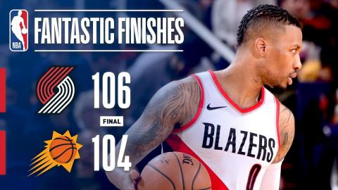 The Trail Blazers and Suns Go Down to The Wire   February 24, 2018