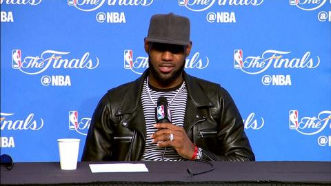 LeBron James NBA Finals Game 3 Press Conference