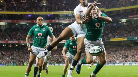 Short Highlights: Ireland 13-9 England   RBS 6 Nations