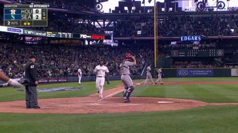 HOU@SEA: Seager brings home Cano, adds to lead