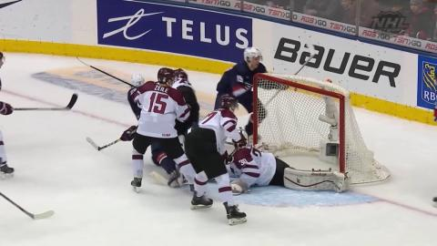 2017 WJC: Highlights from Team USA's 6-1 Win Over Latvia