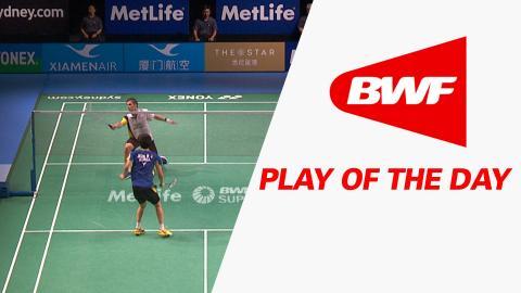 Play Of The Day | Badminton F – XIAMENAIR Australian Badminton Open 2016