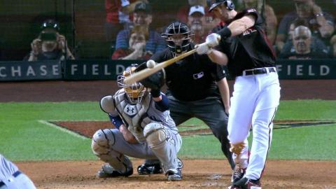 SD@ARI: D-backs pile on five runs in the 2nd inning