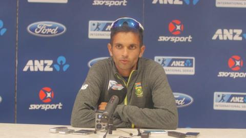 Maharaj maiden five-for keeps Proteas in contention