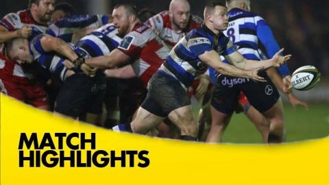 Bath Rugby v Gloucester Rugby - Anglo-Welsh Cup 2016-17