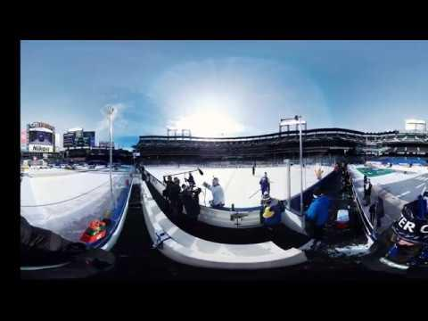 Experience the 2018 NHL Winter Classic sights and sounds in 360-degrees