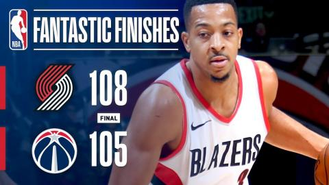 The Portland Trail Blazers' 17-Point 4th Quarter Comeback | November 25, 2017