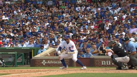 CWS@CHC: Jay lays down a great bunt in the 8th