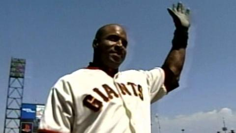 ARI@SF: Bonds hits walk-off homer on birthday