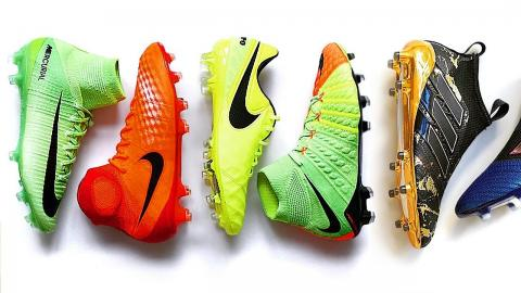 TOP 5 - FOOTBALL BOOTS 2017