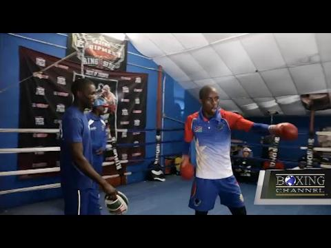 Crawford vs Indongo Work Out Highlights