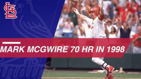 Watch all of Mark McGwire's 70 homers from 1998
