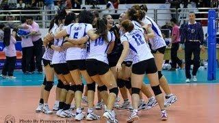 Thailand VS China AVC Volleyball 2013 Semifinal Full Match