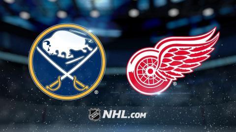 Tatar, Larkin lead Red Wings to 3-1 win vs. Sabres