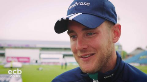Stuart Broad previews day three in Leeds