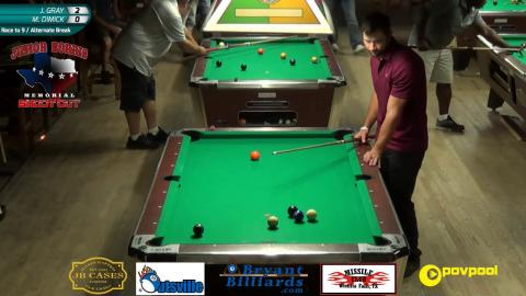 #5 - Mark DIMICK vs Joey GRAY - Norris 9-Ball • 2017