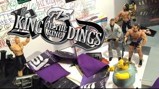 GTS WRESTLING: KING OF THE RING 2015! WWE Figure Matches Animation PPV Event! Mattel Elites!WWE