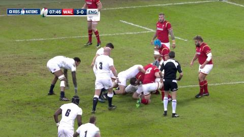 Wales secure crucial turnover after English pressure! | RBS 6 Nations