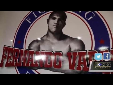 TALKING THE FERNANDO VARGAS FIGHTING FOUNDATION