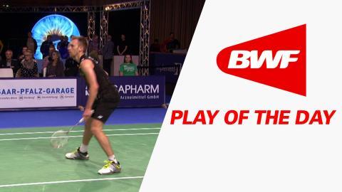 Play Of The Day | Badminton SF – Bitburger Badminton Open 2015
