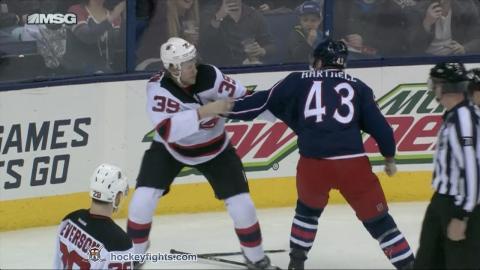 Seth Helgeson vs Scott Hartnell Feb 4, 2017