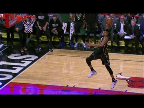 Giannis Throws It Down on the Break | 12.31.16