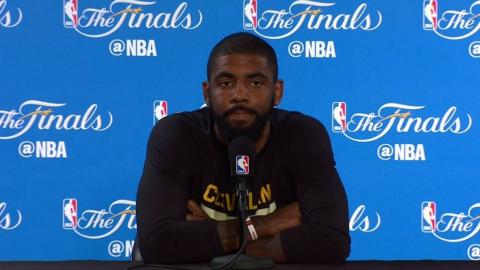 Kyrie Irving NBA Finals Media Day #1 Press Conference | 2017 NBA Finals