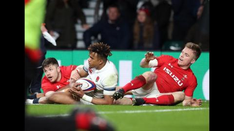 Anscombe denied after TMO check! | NatWest 6 Nations