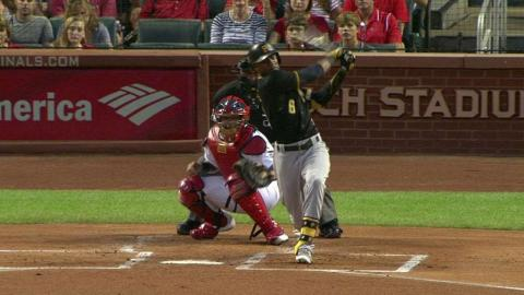 PIT@STL: Marte hits an RBI single to left field