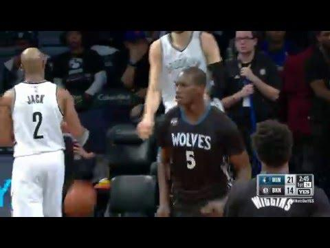Gorgui Dieng goes for 20 points against Brooklyn!