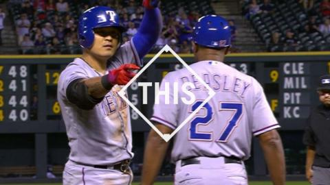 #THIS: Choo's ninth-inning triple completes the cycle