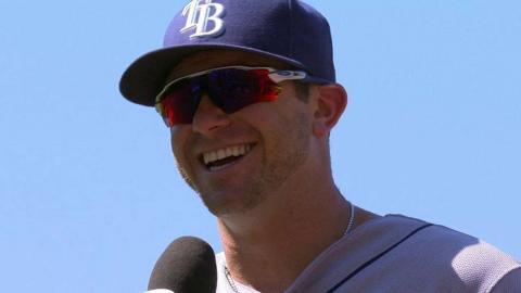 TB@LAD: Longoria on three-hit game, playing in LA