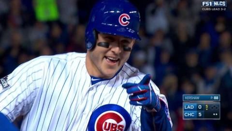 NLCS Gm6: Rizzo lifts a towering solo homer to right