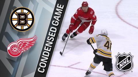 02/06/18 Condensed Game: Bruins @ Red Wings