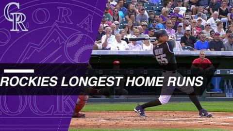 Statcast: Cargo highlights Rockies' longest HRs
