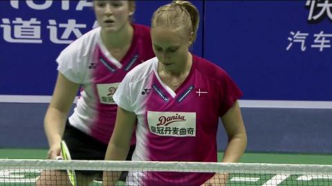 Badminton Unlimited | Maiken Fruergaard vs Sara Thygesen - Women's Doubles (Denmark)
